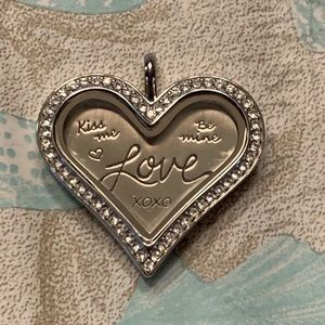Origami Owl Heart Locket - Large
